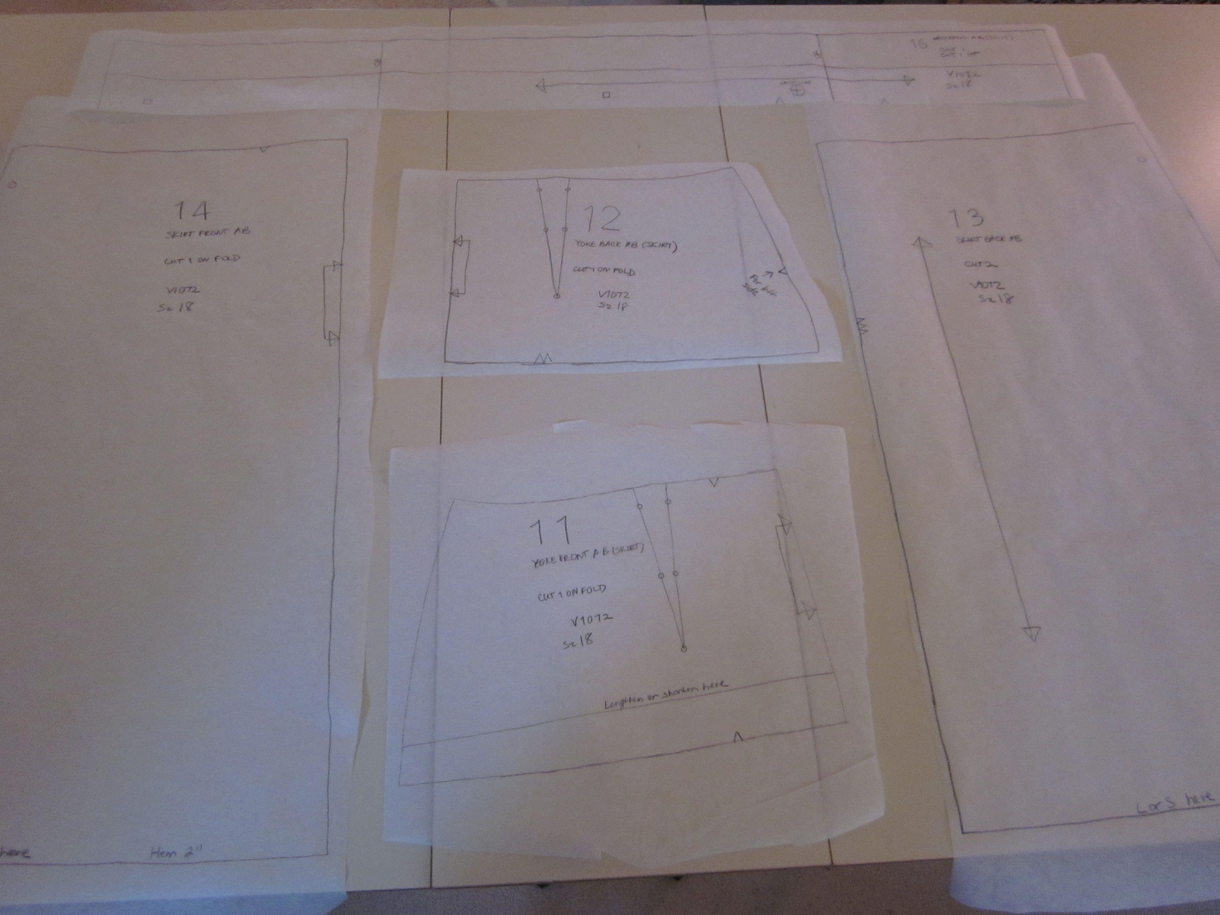 Pattern Tracing Paper Custom Decorating