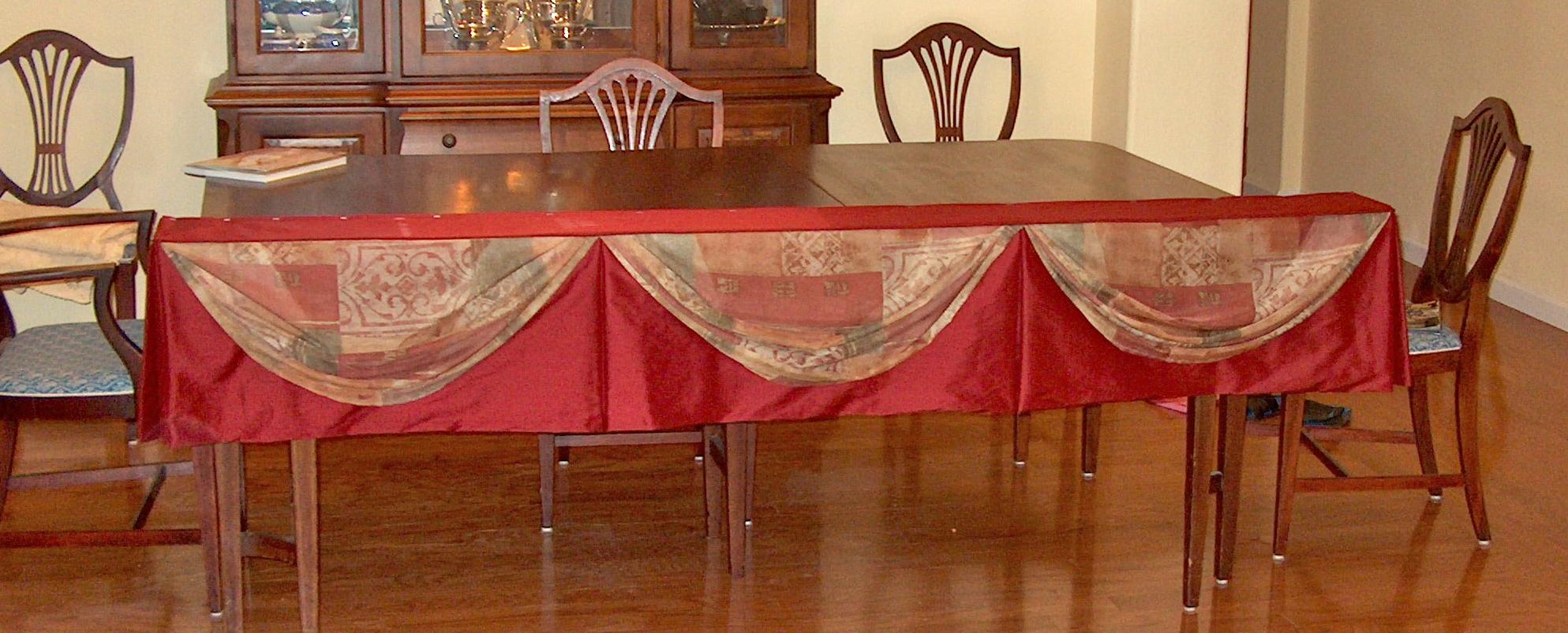 table plan mount board