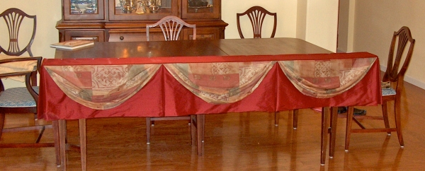 Board-mounted valance