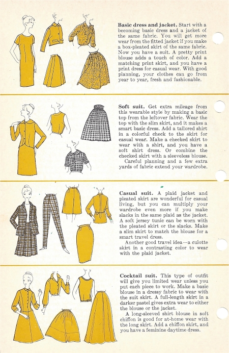 Better Homes and Garden Sewing Book, page from 1970 edition