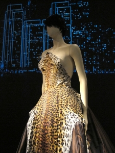 Leopard design dress