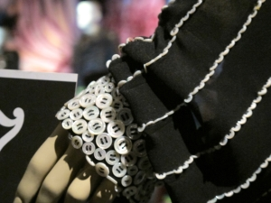 Button dress detail