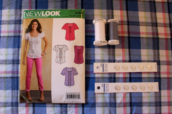 The envelop says New Look 0134, but the pattern pieces say 6104. The instruction sheet lists both numbers.
