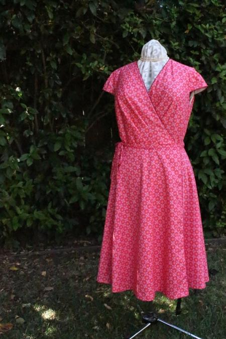 Vogue 8784 on Gene the Dress Form.