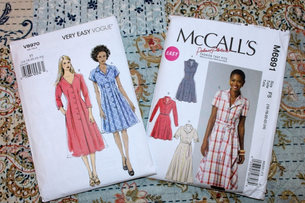 I can't resist a nice shirtdress pattern.