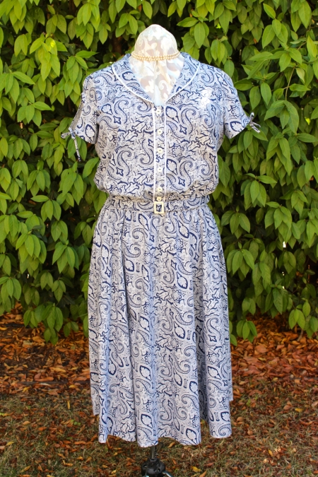 Sew Liberated's Clara shirtdress on Gene.