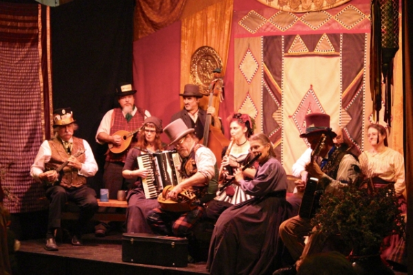 One of the stage shows.