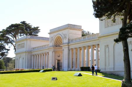 The Legion of Honor Museum. Photo by Jeanne Marie Tokunaga.