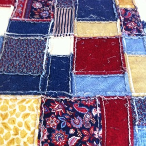 Jeanne Marie's Sewing Studio. Snipped rag quilt.
